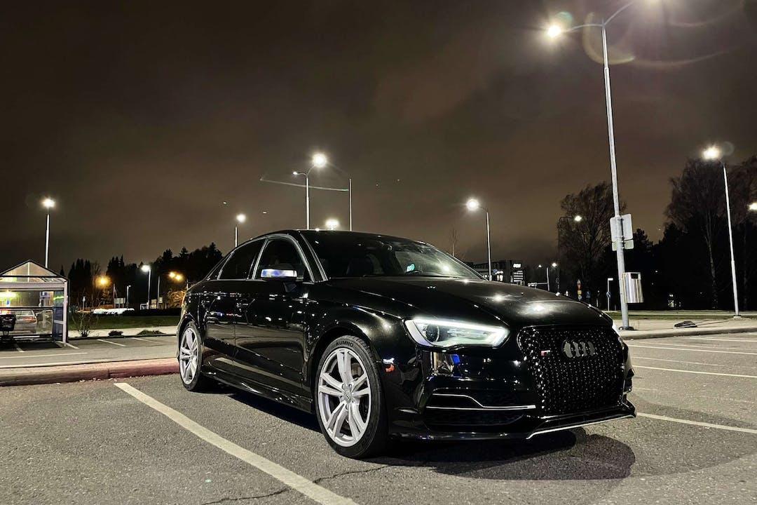 Audi S3n halpa vuokraus GPSn kanssa lähellä 04300 Hyrylä.