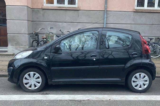 Billig billeje af Peugeot 107 nær 2100 København.