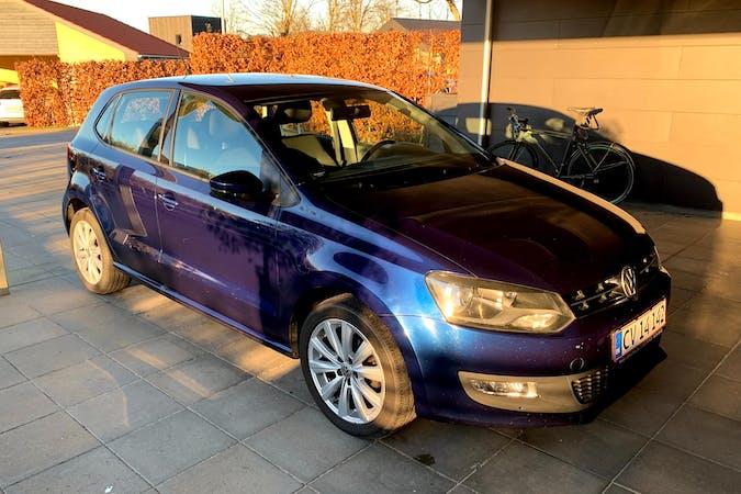 Billig billeje af Volkswagen Polo med Isofix beslag nær 8541 Skødstrup.