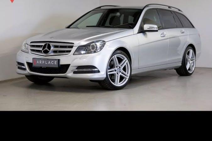 Billig billeje af Mercedes C-Class med GPS nær 7000 Fredericia.