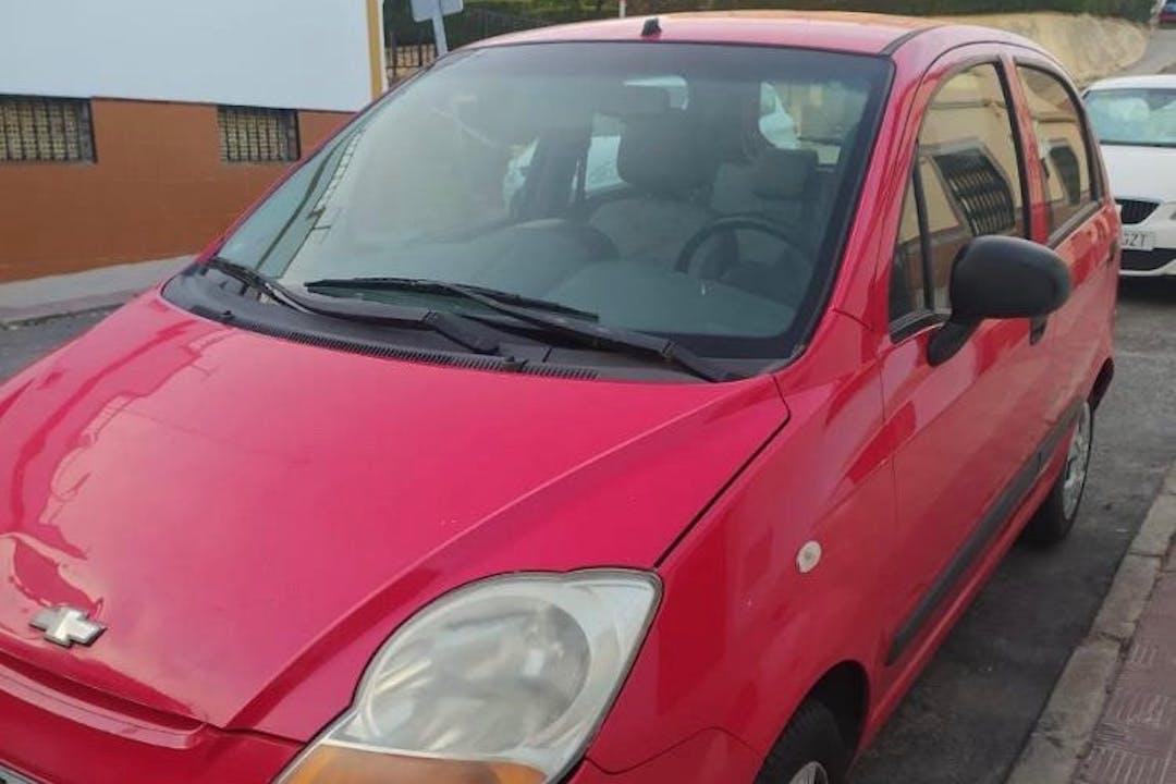 Alquiler barato de Chevrolet Matiz cerca de 41010 Sevilla.