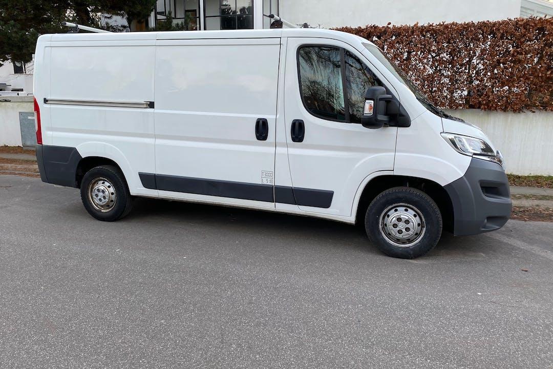 Billig billeje af Citroën Jumper med GPS nær  Frederiksberg.