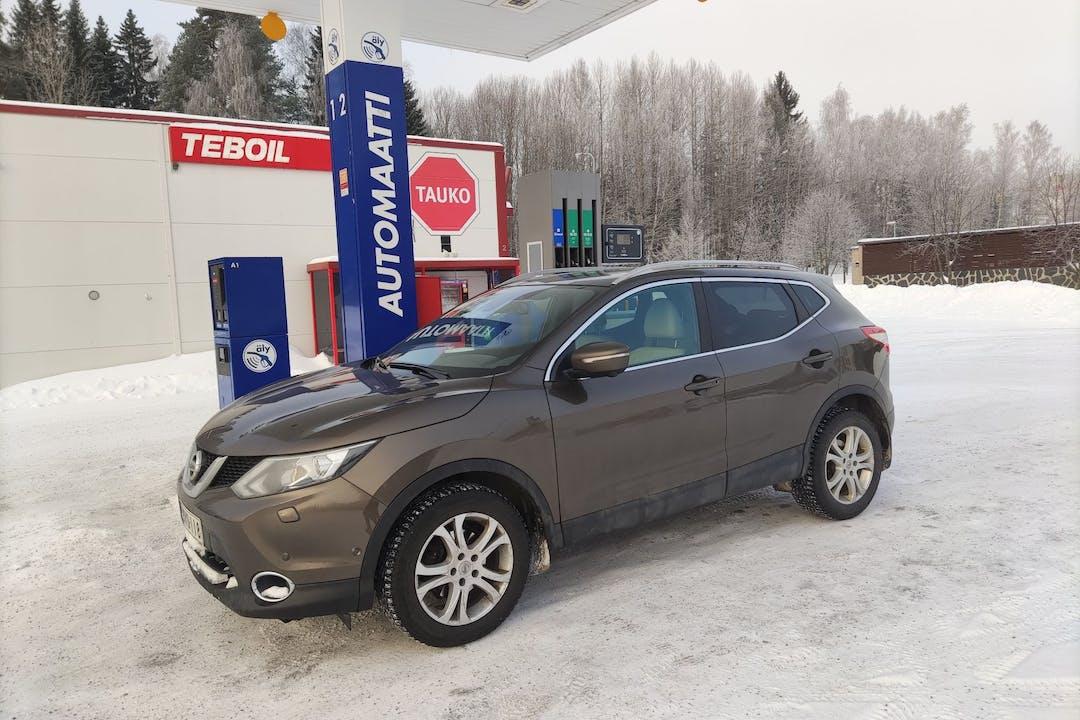 Nissan Qashqain halpa vuokraus GPSn kanssa lähellä 01340 Vantaa.