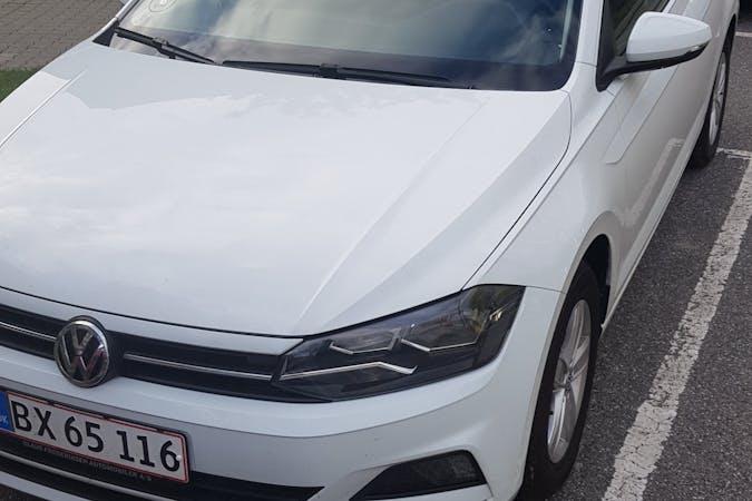 Billig billeje af Volkswagen Polo med Isofix beslag nær 8000 Aarhus.