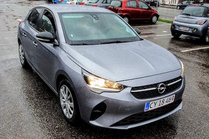 Billig billeje af Opel Corsa med Isofix beslag nær 2830 Virum.