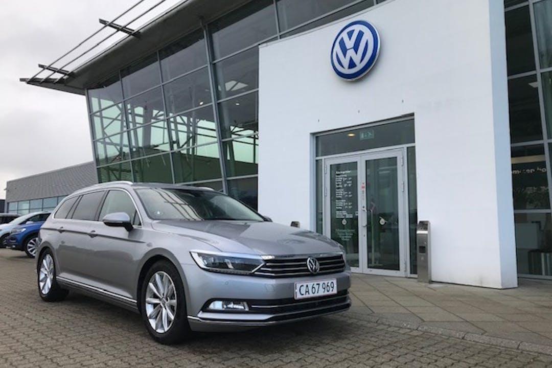 Billig billeje af Volkswagen Passat med GPS nær 4300 Holbæk.