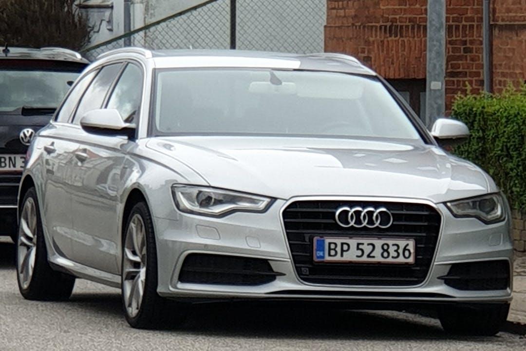 Billig billeje af Audi A6 Avant med GPS nær 4760 Vordingborg.