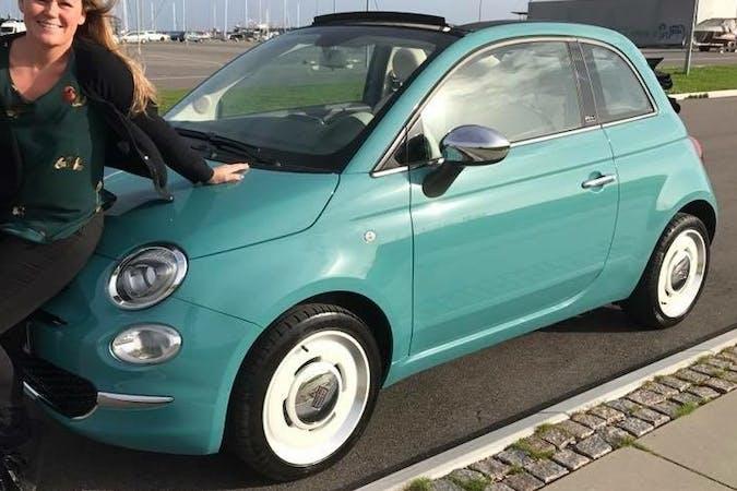 Billig billeje af Fiat 500C nær 2300 København.