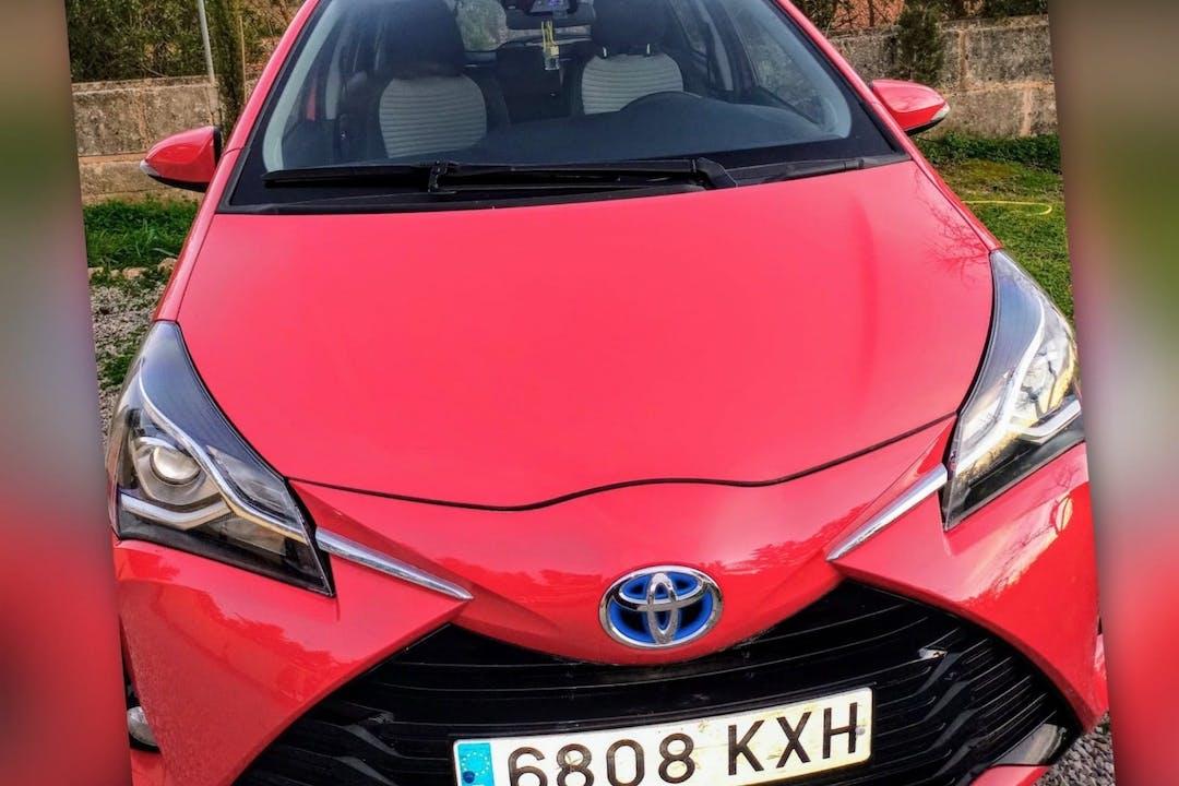 Alquiler barato de Toyota Yaris con equipamiento Fijaciones Isofix cerca de 07006 Palma.