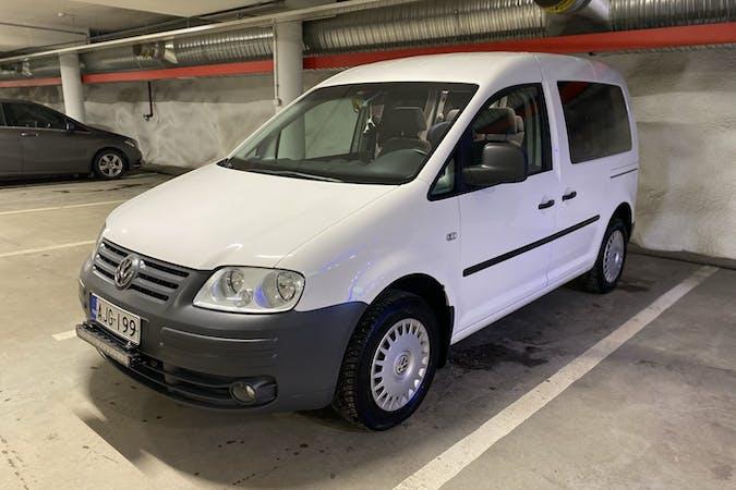 Volkswagen Caddyn halpa vuokraus Vetokoukkun kanssa lähellä 21500 .
