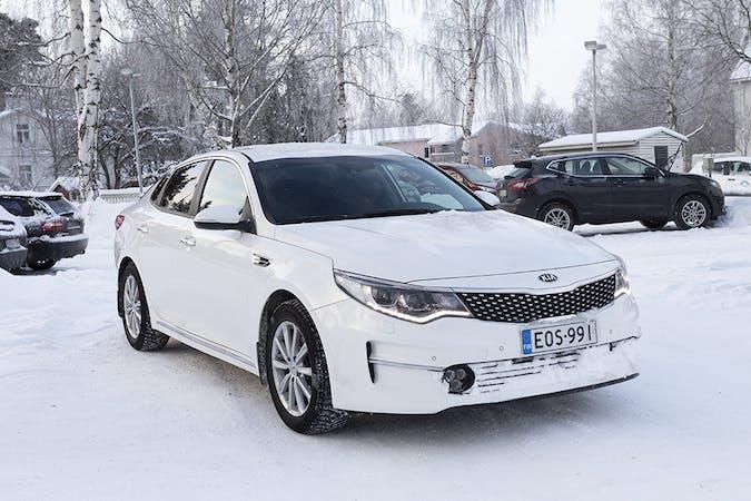 Kia Optiman halpa vuokraus GPSn kanssa lähellä 00700 Helsinki.