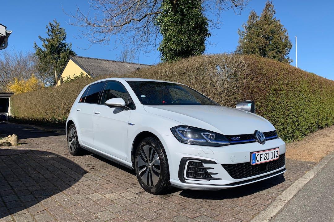 Billig billeje af Volkswagen Golf nær 7620 Lemvig.