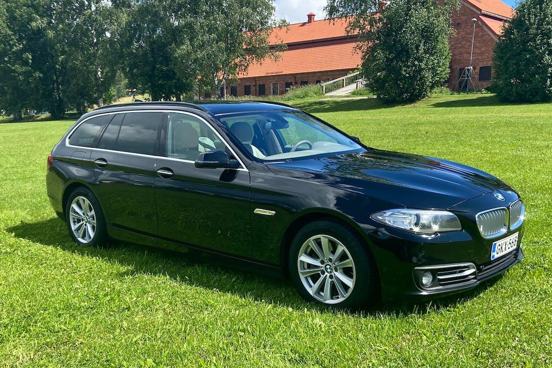 BMW 5 Seriesn halpa vuokraus Isofix-kiinnikkeetn kanssa lähellä 00660 Helsinki.