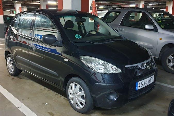 Alquiler barato de Hyundai i10 con equipamiento Aire acondicionado cerca de 28051 Madrid.