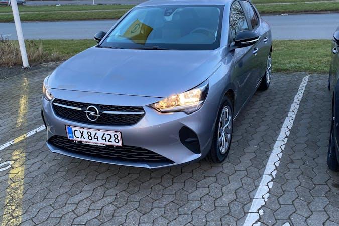 Billig billeje af Opel Corsa med Isofix beslag nær 8230 Aarhus.