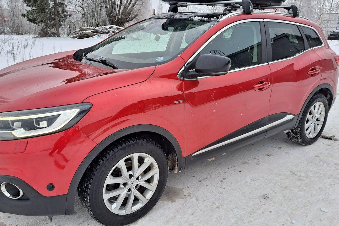 Renault Kadjarn lalpa vuokraus lähellä 01670 Vantaa.