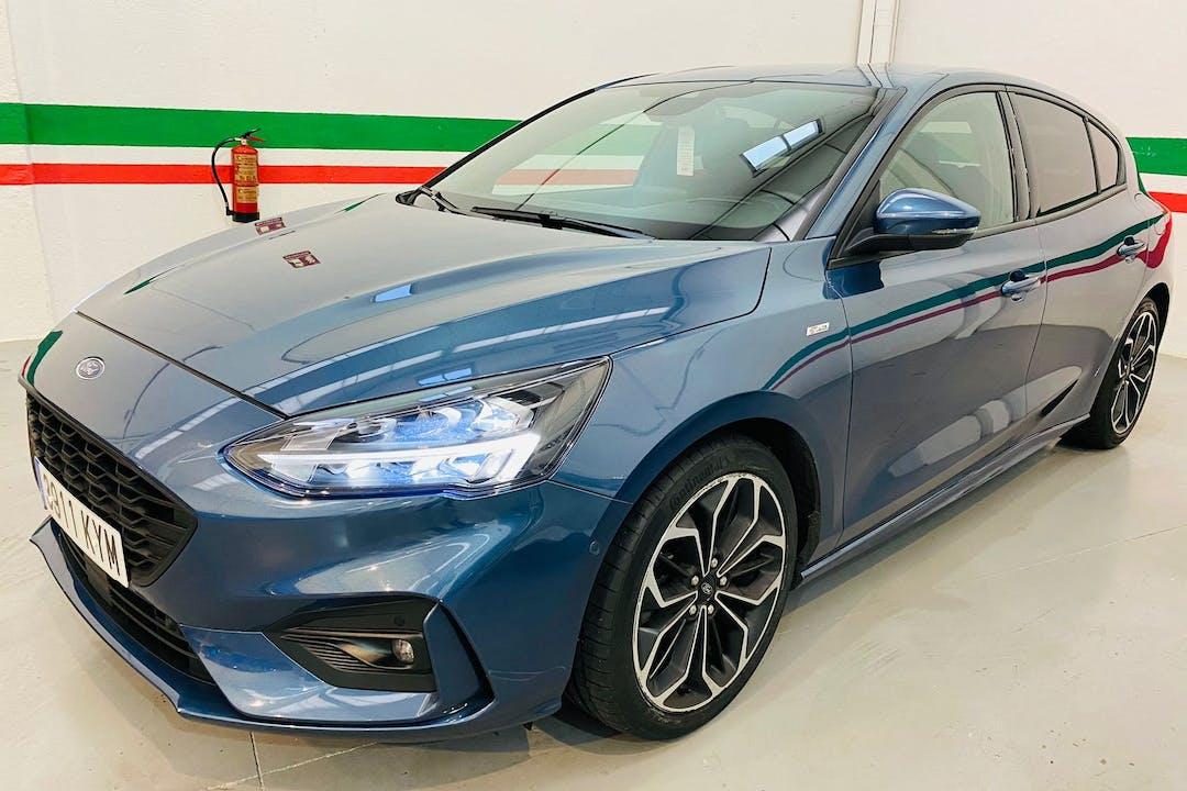 Alquiler barato de Ford Focus con equipamiento GPS cerca de 28012 Madrid.
