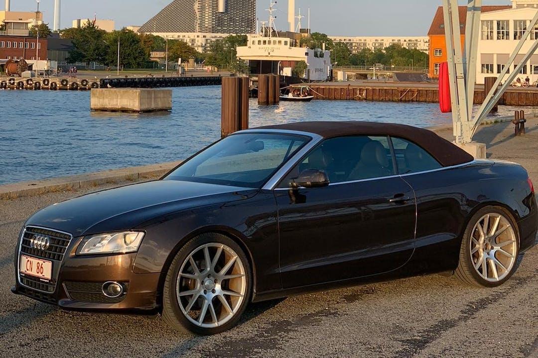 Billig billeje af Audi A5 Sportback med Bluetooth nær 2730 Herlev.