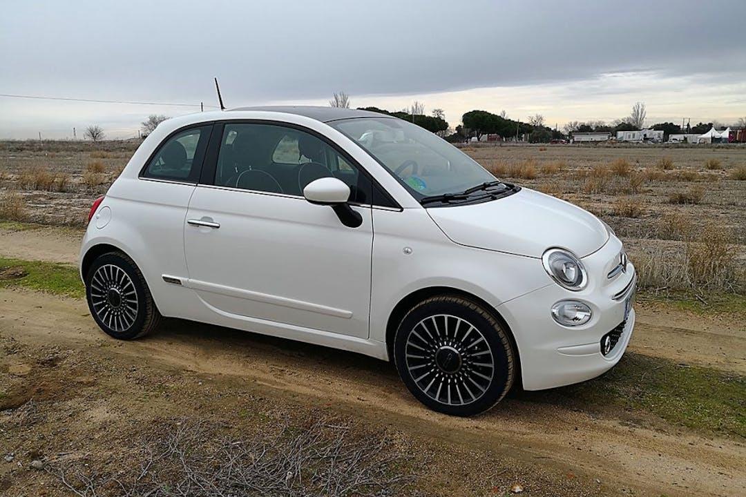 Alquiler barato de Fiat 500 cerca de 08017 Barcelona.