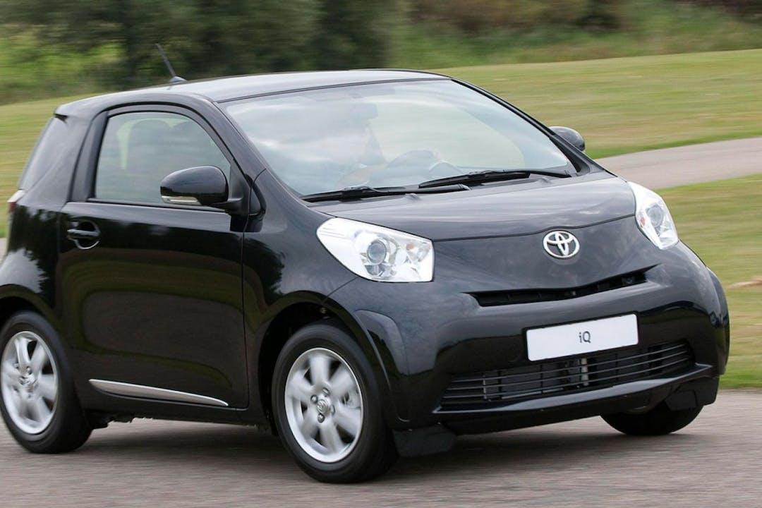 Billig biluthyrning av Toyota iQ med Aircondition i närheten av 756 53 Sunnersta.