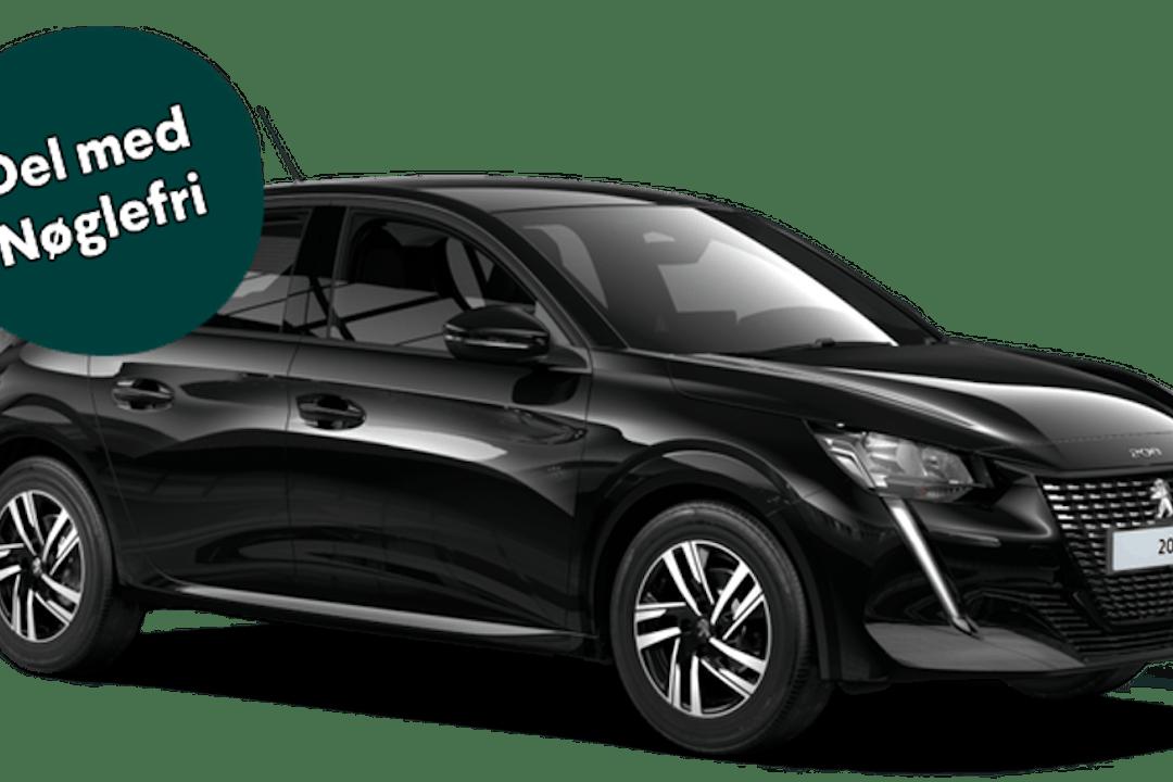 Billig billeje af Peugeot 208 med Bluetooth nær 2400 København.
