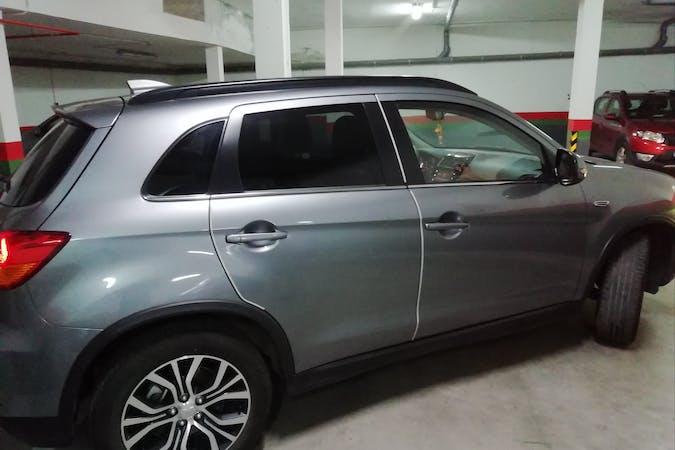 Alquiler barato de Mitsubishi ASX con equipamiento GPS cerca de 45300 Ocaña.