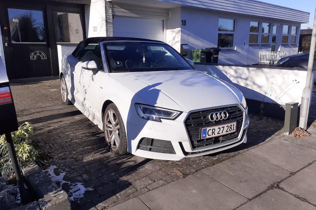 Billig billeje af Audi A3 med GPS nær 2670 Greve.