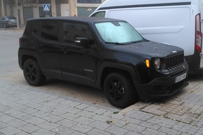 Alquiler barato de Jeep Renegade cerca de 28026 Madrid.