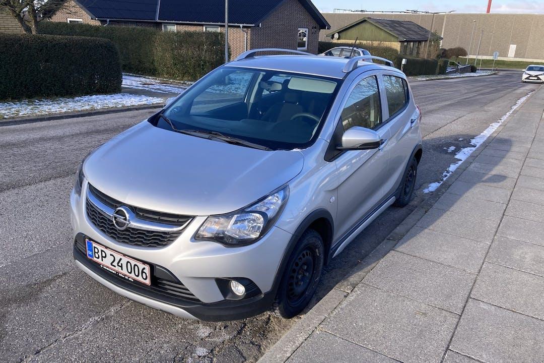 Billig billeje af Opel Karl nær 9830 Tårs.