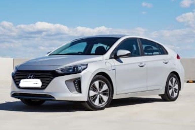 Hyundai Ioniqn halpa vuokraus GPSn kanssa lähellä 00160 Helsinki.