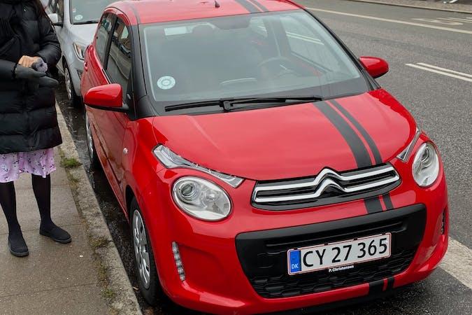Billig billeje af Citroën C1 med Isofix beslag nær 2200 København.