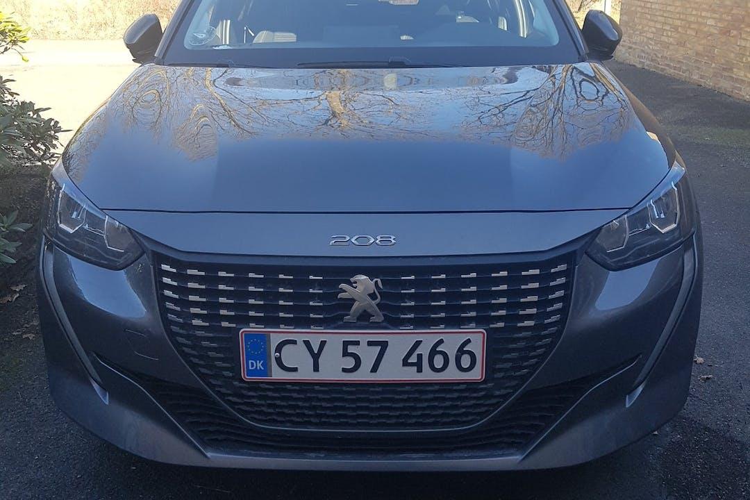 Billig billeje af Peugeot 208 med Isofix beslag nær 9000 Aalborg.