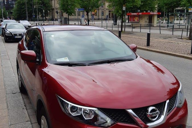 Nissan Qashqain halpa vuokraus Isofix-kiinnikkeetn kanssa lähellä 00210 Helsinki.
