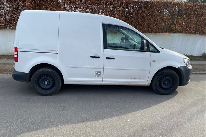 Billig billeje af Volkswagen Caddy nær  Frederiksberg.