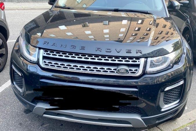 Billig billeje af Land Rover Range Rover Evoque med GPS nær 1123 København.