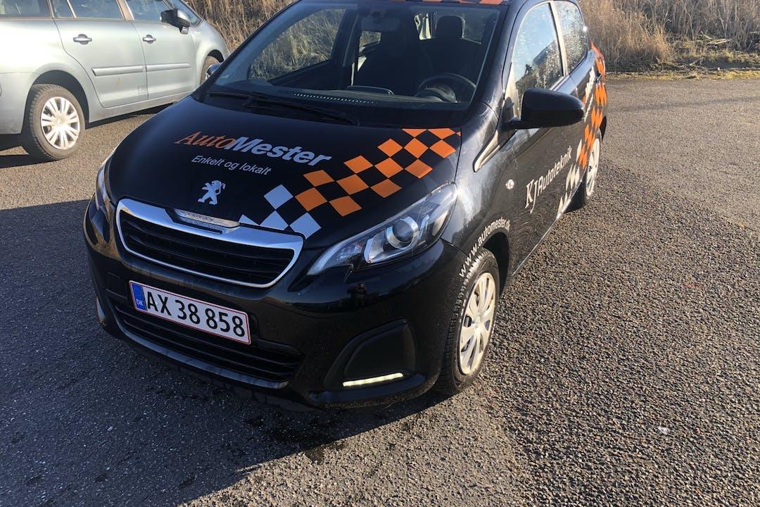 Billig billeje af Peugeot 108 nær 9000 Aalborg.