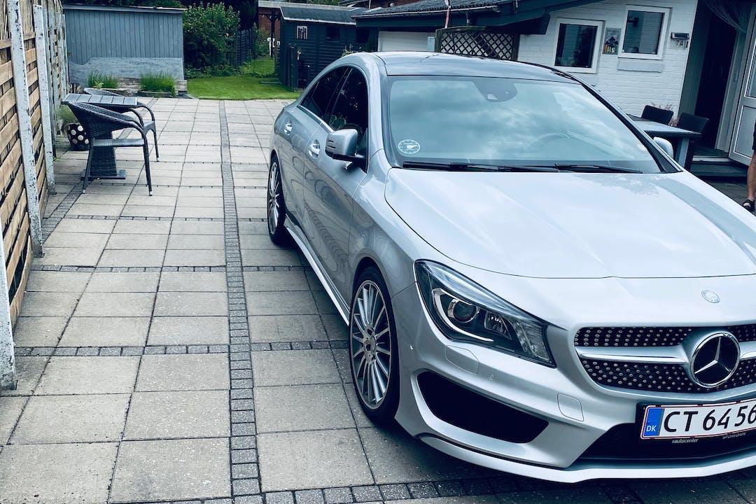 Billig billeje af Mercedes CLA Coupe med GPS nær 5800 Nyborg.