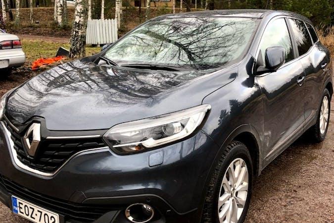 Renault Kadjarn halpa vuokraus GPSn kanssa lähellä 00810 Helsinki.