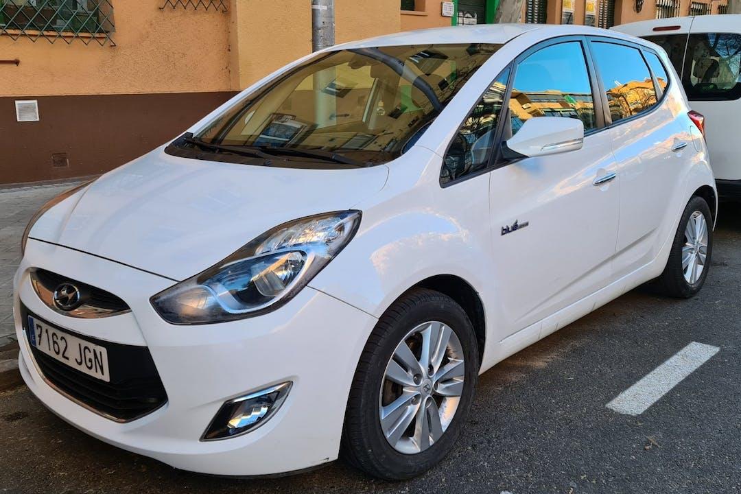 Alquiler barato de Hyundai ix20 cerca de 28025 Madrid.