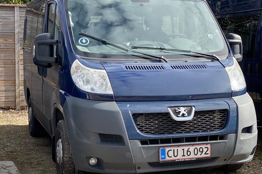 Billig billeje af Peugeot Boxer med Isofix beslag nær 2770 Kastrup.