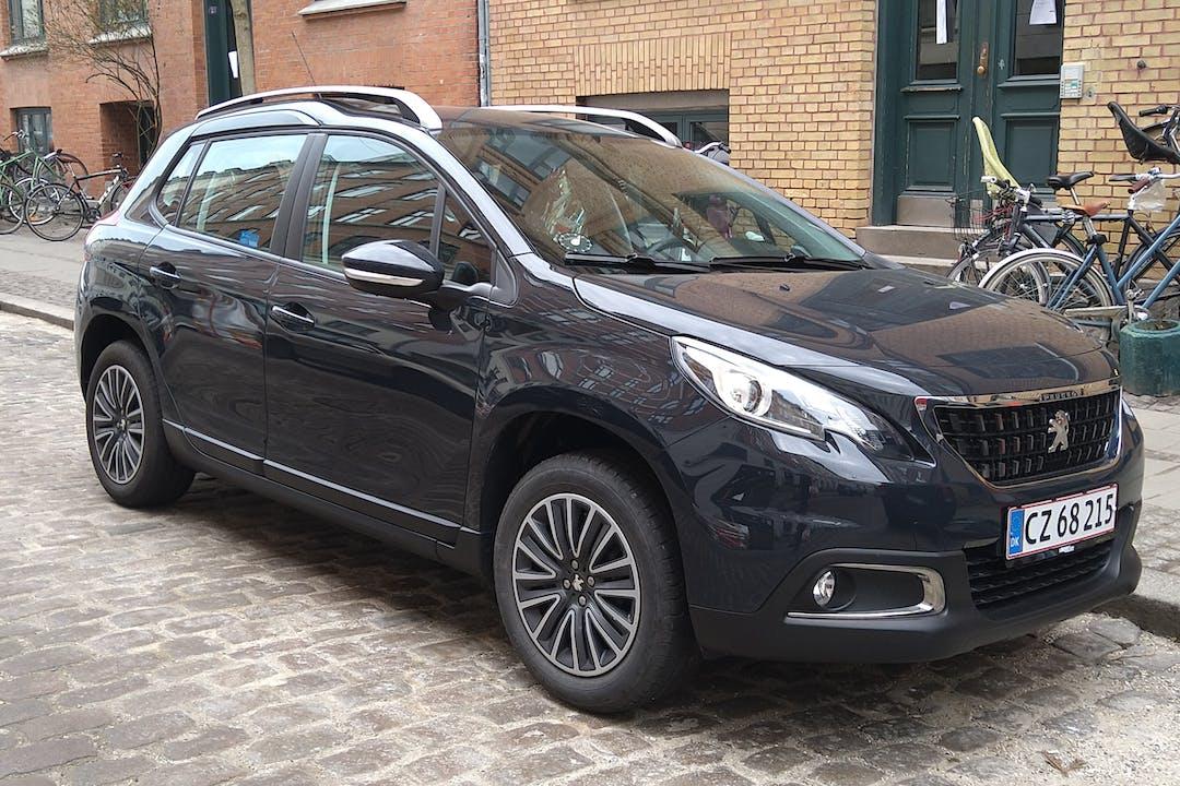 Billig billeje af Peugeot 2008 med Isofix beslag nær 2200 København.
