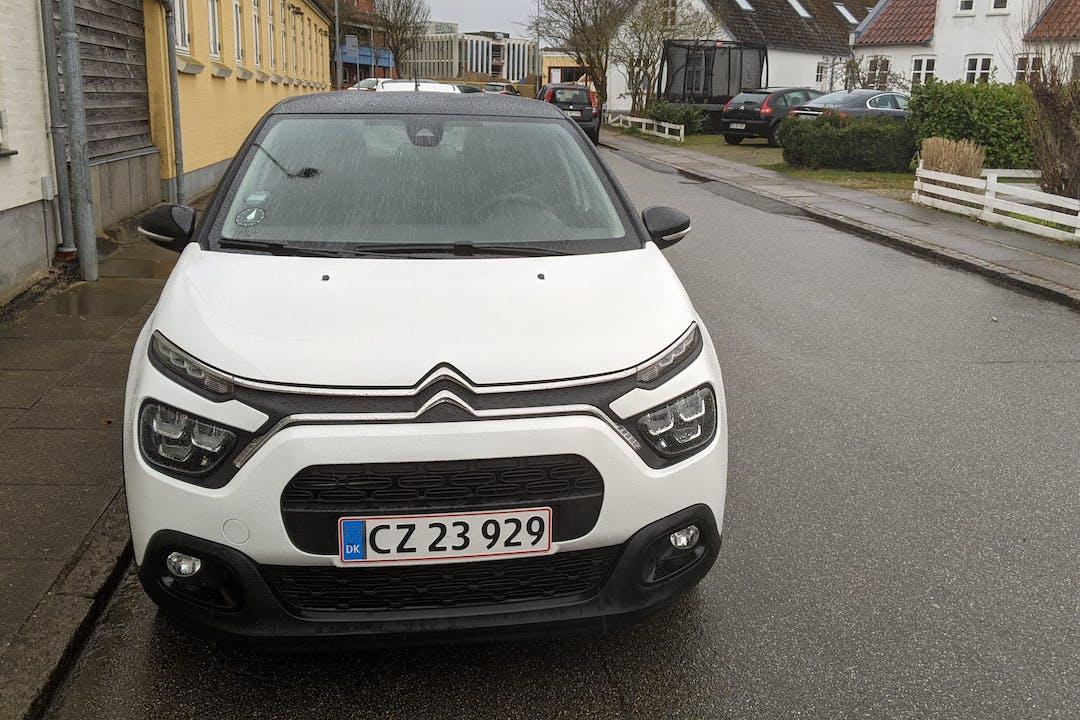 Billig billeje af Citroën C3 med Isofix beslag nær 8240 Risskov.