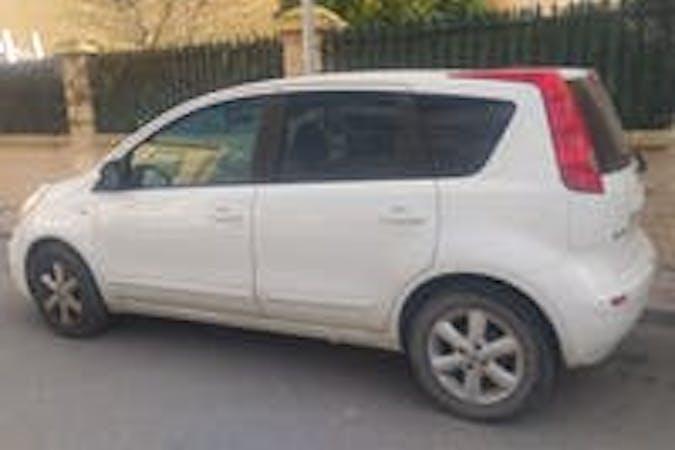 Alquiler barato de Nissan Note cerca de 18006 Granada.