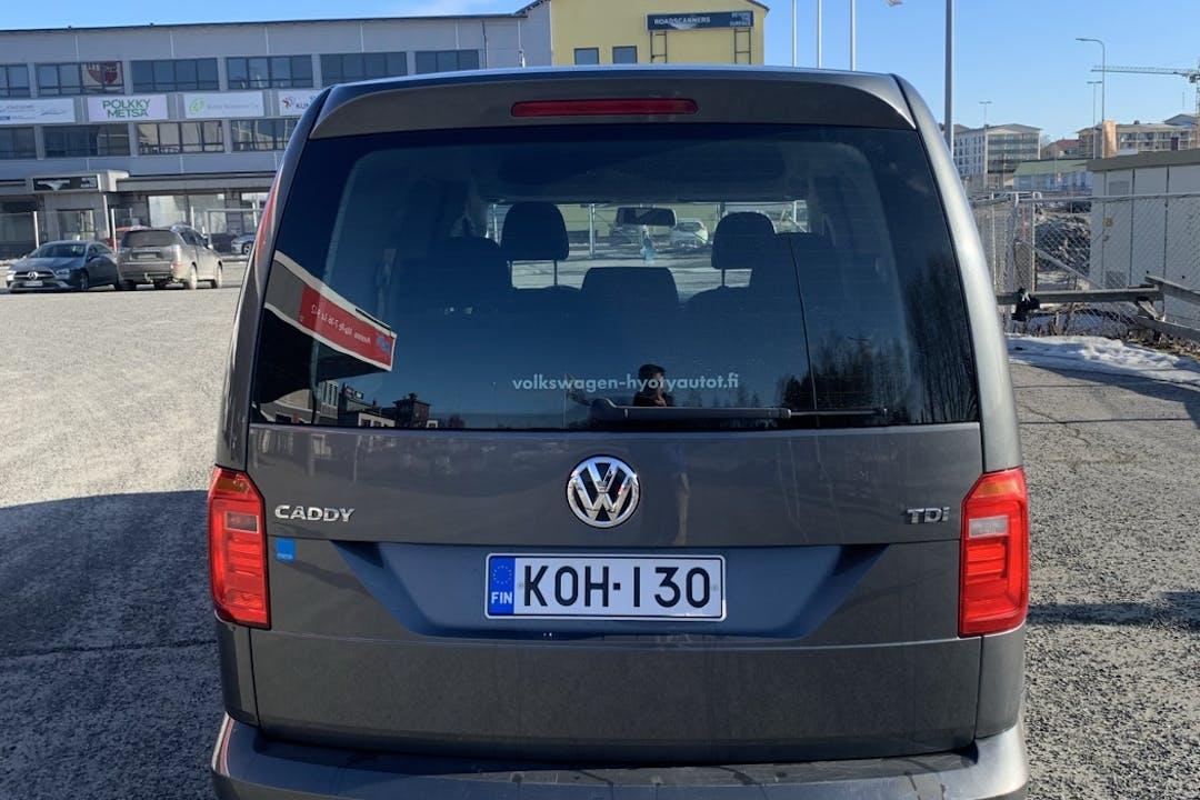 Volkswagen Caddyn halpa vuokraus Bluetoothn kanssa lähellä 96500 Rovaniemi.