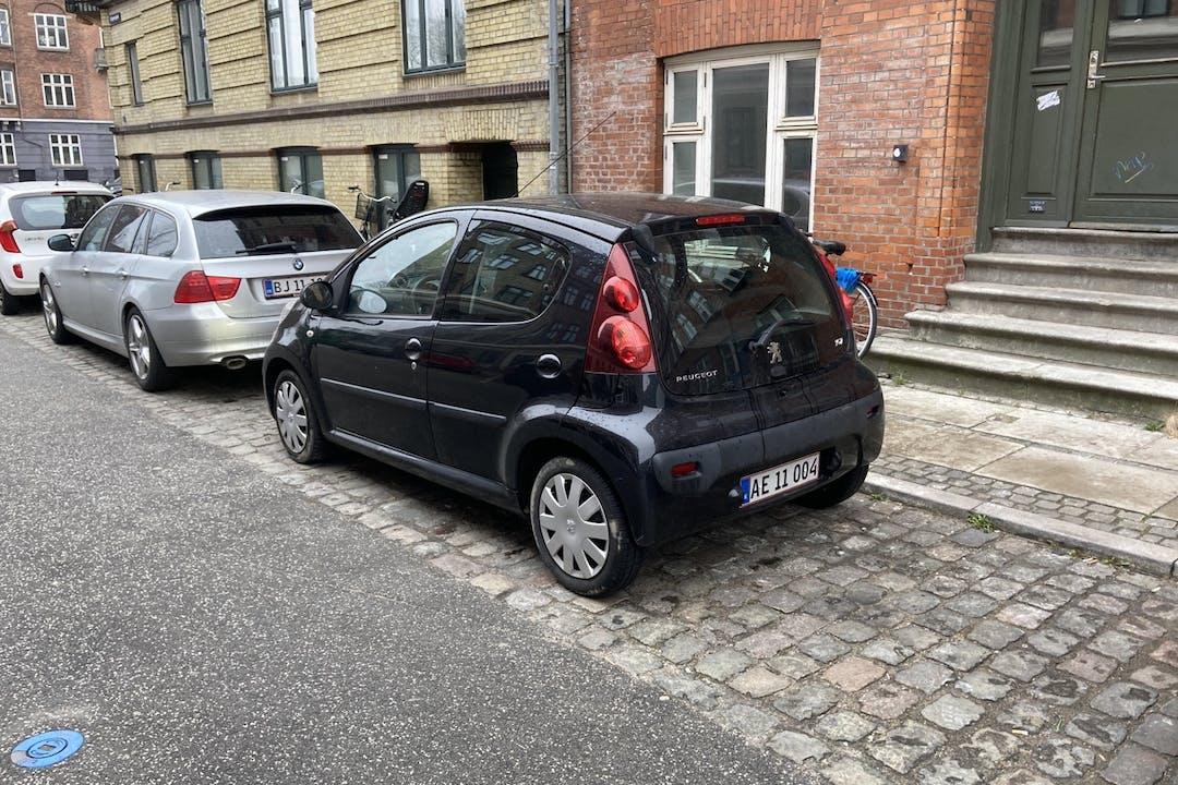 Billig billeje af Peugeot 107 nær 2200 København.