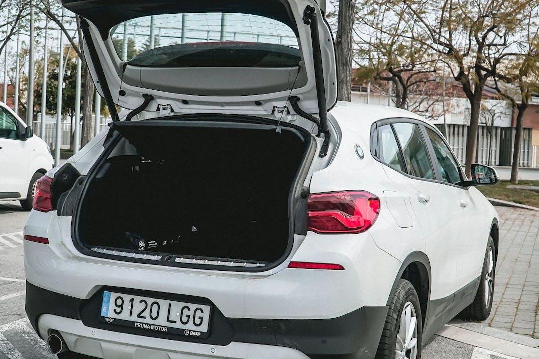 Alquiler barato de BMW X2 cerca de 08033 Barcelona.