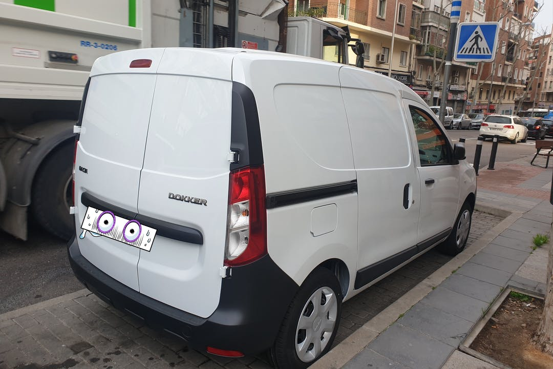 Alquiler barato de Dacia Dokker cerca de 28019 Madrid.