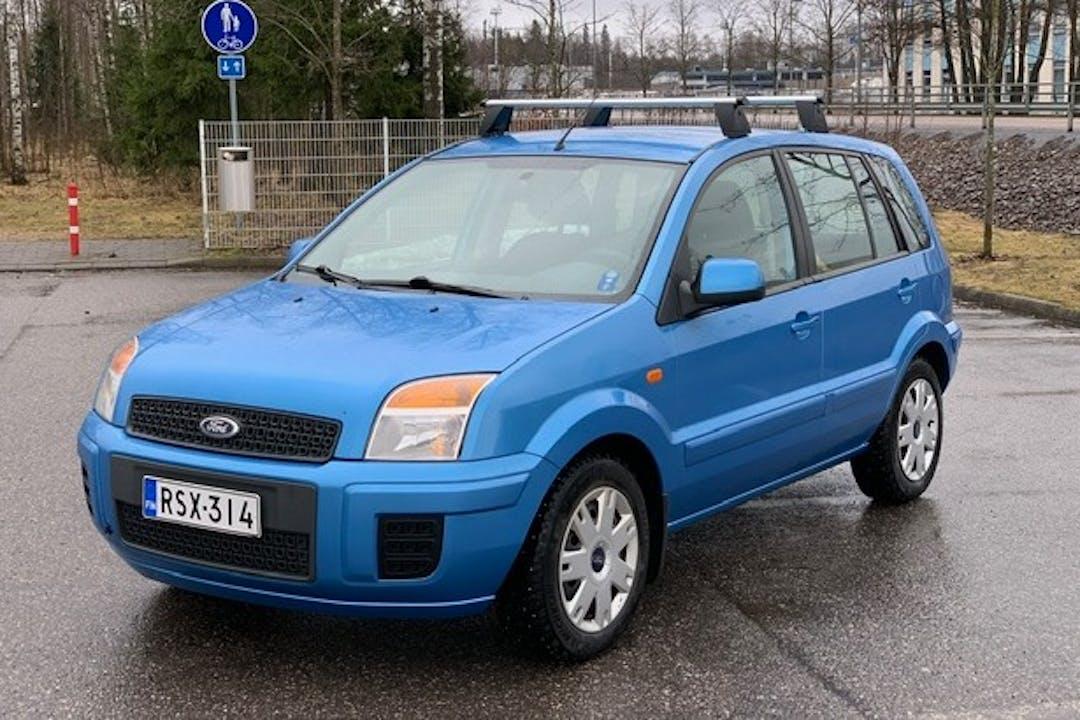 Ford Fusionn lalpa vuokraus lähellä 01600 Vantaa.