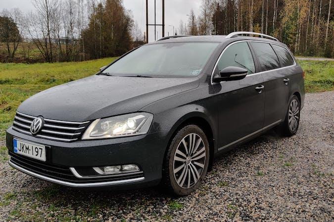 Volkswagen Passatn halpa vuokraus GPSn kanssa lähellä 15100 Lahti.