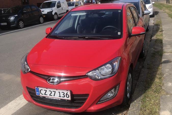 Billig billeje af Hyundai i20 med Isofix beslag nær 8200 Aarhus.